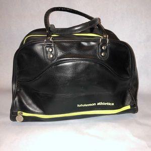 Retro Lululemon Athletica tote/travel/gym/  bag